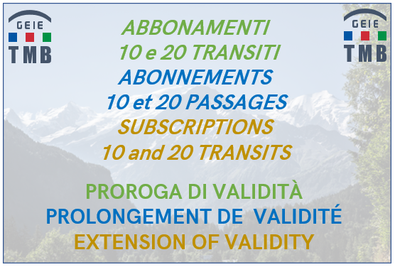 Extension of the expire date of subscription cards for 10 or 20 transits